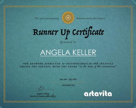 Artavita_Contest39_Certificate - Angela Keller