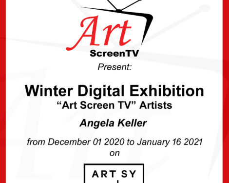 Art Screen TV Winter Exhibition - Angela Keller